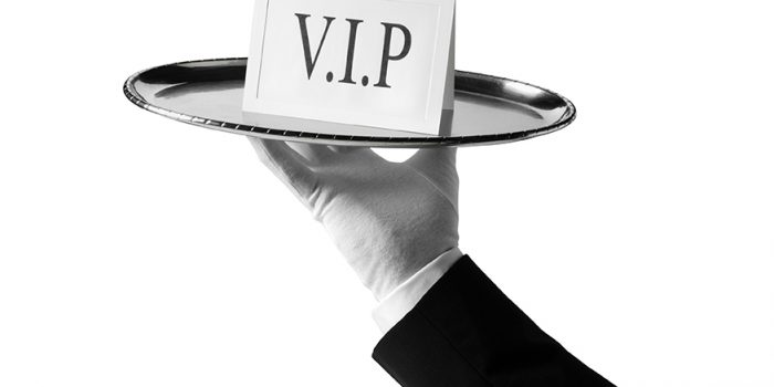 V.I.P with First Class service